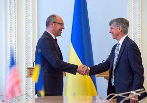 Зустріч Андрія Парубія з Тимчасовим повіреним у справах США в Україні Вільямом Тейлором