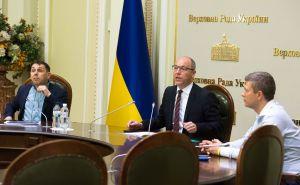 Андрій Парубій разом з народними депутатами провели презентацію Проекту Виборчого кодексу