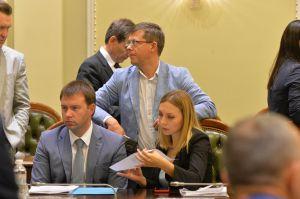 Засідання Підготовчої депутатської групи з організації роботи Верховної Ради України IX скликання під керівництвом Дмитра Разумкова.