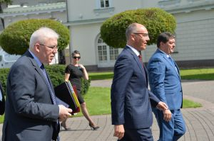 Голова Верховної Ради України Андрій Парубій здійснює візит до Литовської Республіки з метою участі у Третій міжнародній Конференції «Президента Валдаса Адамкуса».