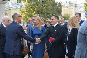 Голова Верховної Ради України Андрій Парубій здійснює візит до Литовської Республіки. День прапора в посольстві України в Литві