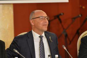 Голова Верховної Ради України Андрій Парубій здійснює візит до Литовської Республіки. Панельна дискусія.