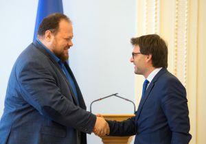 Руслан Стефанчук провів зустріч з делегацією Республіки Молдова