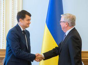Зустріч з делегацією Європейського Парламенту на чолі з паном Петом Коксом