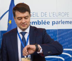 Участь Голови Верховної Ради України Дмитра Разумкова у відкритті Європейської конференції голів парламентів держав-членів Ради Європи