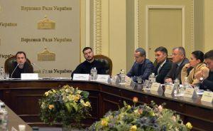 Засідання Комітету Верховної Ради України з питань аграрної та земельної політики.