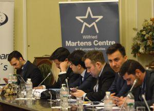 Заступник Голови Верховної Ради України Олена Кондратюк взяла участь у зустрічі з делегацією молоді Європейської народної партії