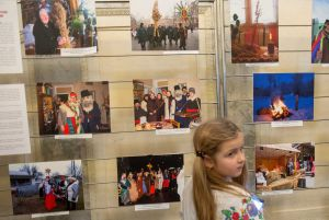 У ВР України відбулося відкриття фотовиставки «Різдвяно-новорічні традиції в Україні»