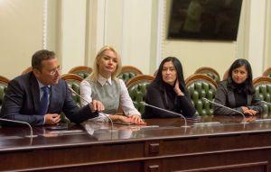Организационное заседание депутатской группы Верховной Рады Украины по межпарламентским связям с Азербайджанской Республикой
