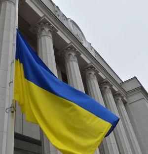 По случаю празднования Дня Соборности, перед Верховной Радой Украины при участии Почетного караула Национальной гвардии Украины состоялась торжественная церемония поднятия Государственного флага Украины.