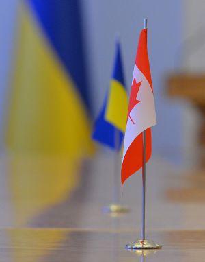Зустріч Голови ВР України Дмитра Разумкова з Надзвичайним і Повноважним Послом Канади в України Ларисой Галадзою