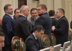 Заседание Согласительного совета в Верховной Раде Украины