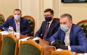 Заседание Консультативного совета по вопросам местного самоуправления при председательством Председателя Верховной Рады Украины Дмитрия Разумкова