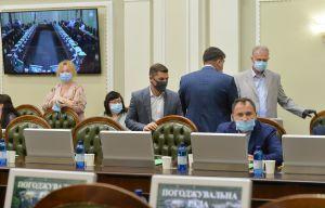 Нарада голів депутатських фракцій (депутатських груп) і комітетів Верховної Ради України дев'ятого скликання