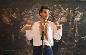 У холі першого поверху Верховної Ради України відбулася презентація фотокартини «Лист Сультіну» французького фотохудожника Юрія Білака.