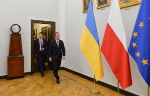 Голова Верховної  Ради України Дмитро Разумков провів зустріч із Маршалком Сенату Томашем Гродзьким