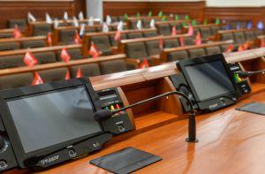 Голова ВР України Дмитро Разумков ознайомився з роботою системи голосування Рада 4 в Київраді