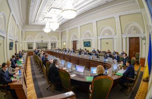 Засідання Погоджувальної ради депутатських фракцій (депутатських груп) у ВР 1 березня
