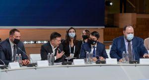 Председатель Верховной Рады Украины Дмитрий Разумков принял участие в заседании Национального совета реформ.