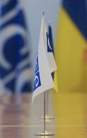 Председатель Верховной Рады Украины Дмитрий Разумков встретился с Генеральным секретарем ОБСЕ Хельгой Марией Шмид