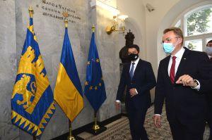 Председатель Верховной Рады Украины Дмитрий Разумков выступил на Всеукраинском форуме местного самоуправления во Львове