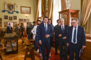 Председатель Парламента  Дмитрий Разумков посетил Львовский национальный университет имени Ивана Франко