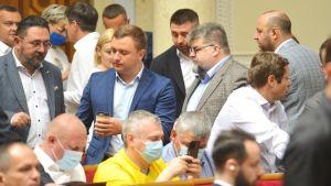 Пленарное заседание Верховной Рады Украины 15 июня.