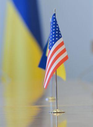 Встреча Председателя Верховной Рады Украины Дмитрия Разумкова с Временным поверенным в делах США в Украине Джорджем Кентом