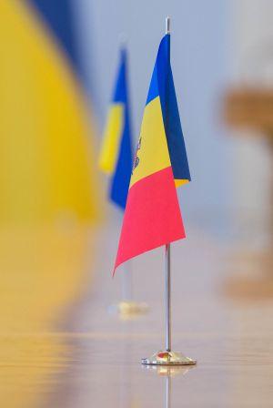 Встреча Председателя Верховной Рады Украины Дмитрия Разумкова с Председателем Счетной палаты Республики Молдова Марианом Лупу