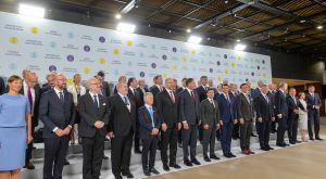 Председатель Верховной Рады Украины Дмитрий Разумков принял участие в инаугурационном Саммите Крымской платформы.