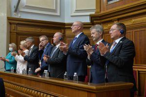 Внеочередное заседание ВР Украины