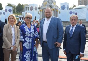 Торжественные мероприятия в честь 30-летия Независимости Украины. Парад войск в Киеве.