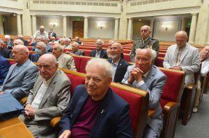 Руслан Стефанчук наградил парламентариев, принявших Акт провозглашения независимости Украины